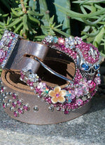 Gypsy Skull Buckle & Belt - Small - Elusive Cowgirl Boutique