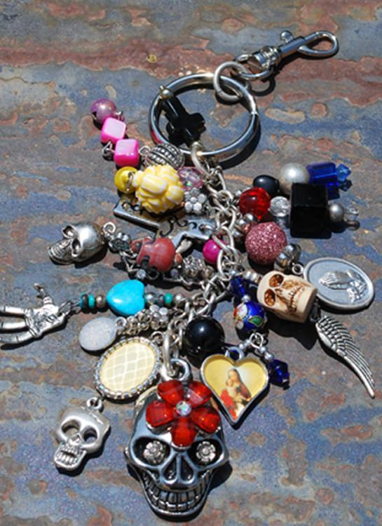 Gypsy Key Chain - Red - Elusive Cowgirl Boutique