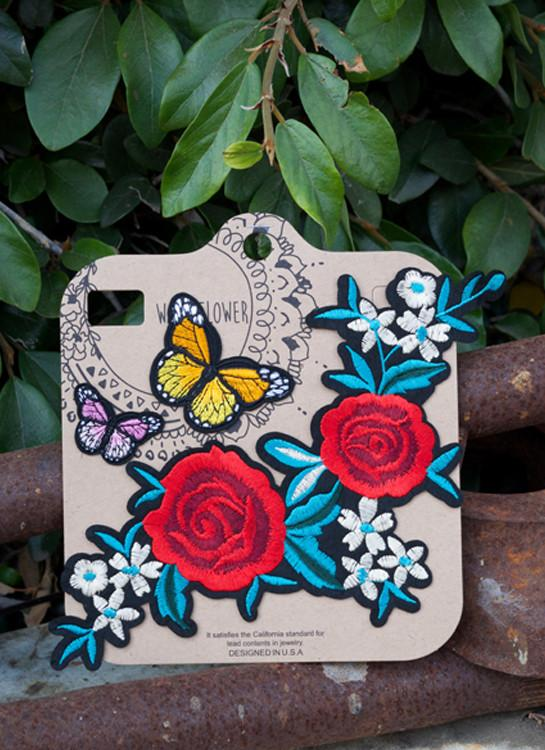 Patches- Texas Rose