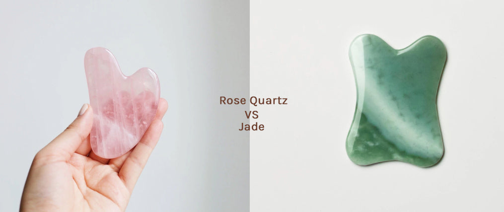 Gua Sha: Jade vs Rose Quartz