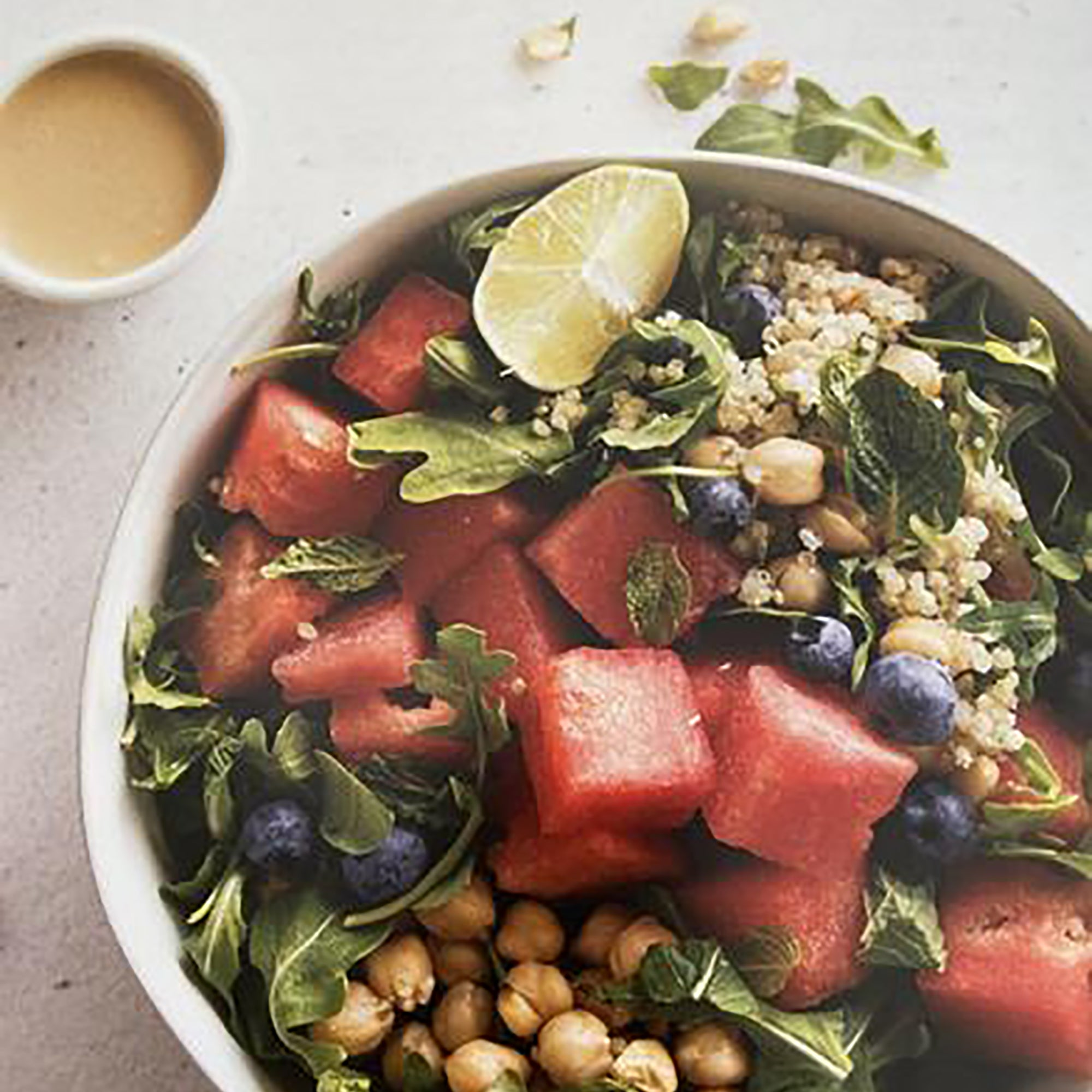 Watermelon and Arugula Bowl Recipe