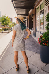 Zen Garden T-Shirt Dress
