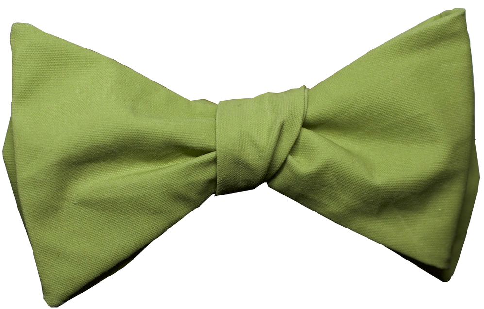 glass & bow green bow tie the newton