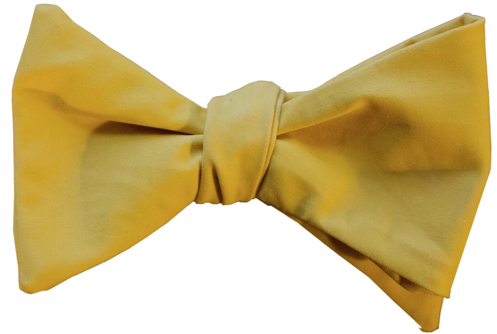 glass & bow yellow bow tie the edison
