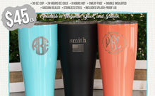 Personalized Chill Cups