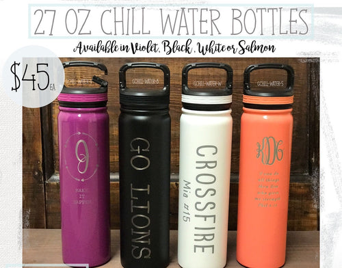 Chill Water Bottle