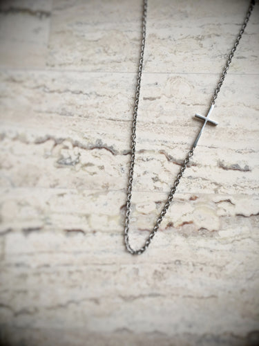 Cross Centerpiece Necklace