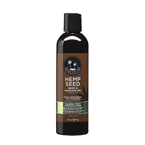 Earthly Body Massage Oil 8oz