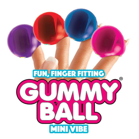 Rock Candy - Gummy Ball Finger Vibe