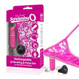 Screaming O Rechargeable Vibrating Panty Set