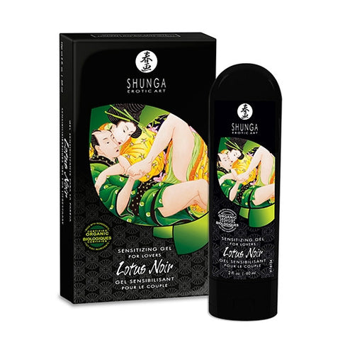 Shunga Lotus Noir Sensitizing Gel