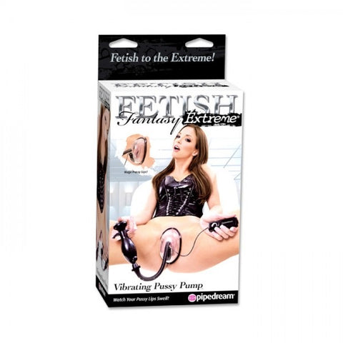 Fetish Fantasy Extreme Vibrating Pussy Pump