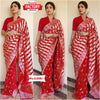 Red Shilpa Shetty Silk Sparrow Saree