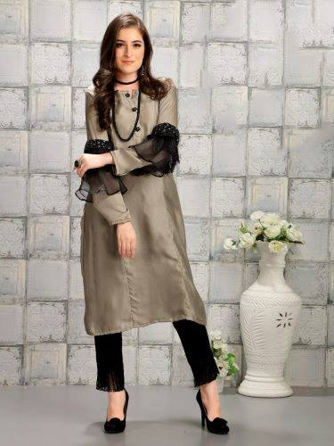 Steel Grey Kurthi Pant