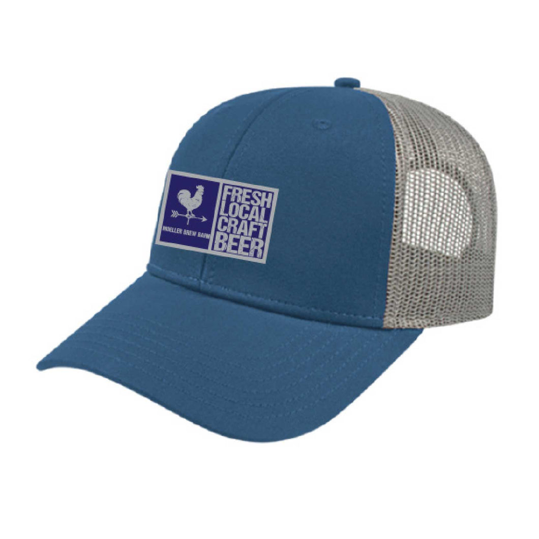 Blue Patch Hat