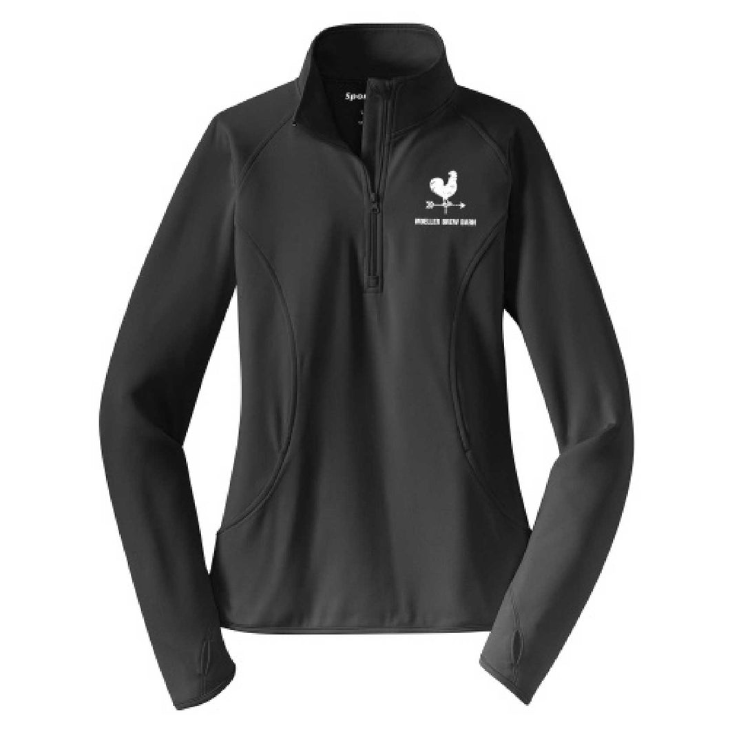 Ladies' Quarter Zip Pullover