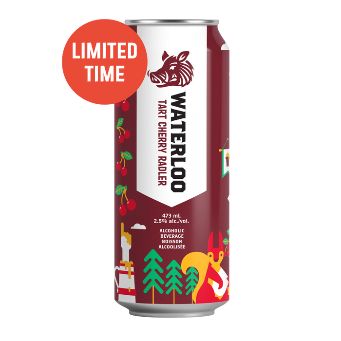 Waterloo Tart Cherry Radler