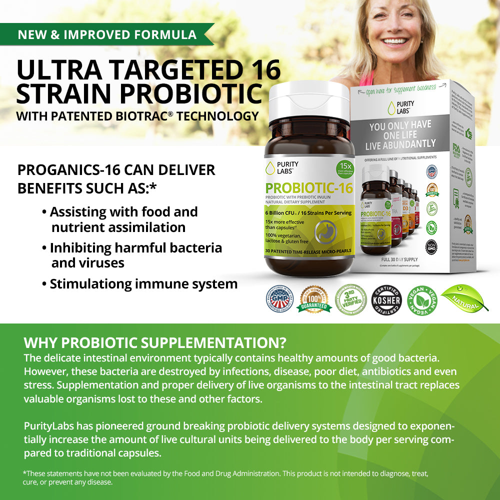 Purity Labs Probiotic prorganic