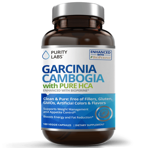 Garcinia Cambogia Supplement, Garcinia Veggie Capsules, Garcinia with Bioperine