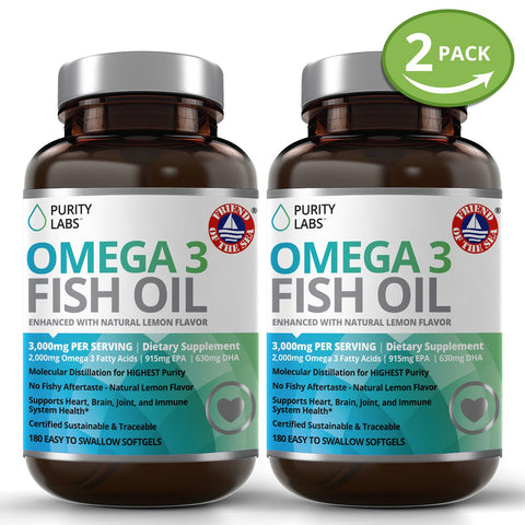 Omega 3 Supplement, Omega 3 Fish Oil Supplement, Omega 3 Softgels