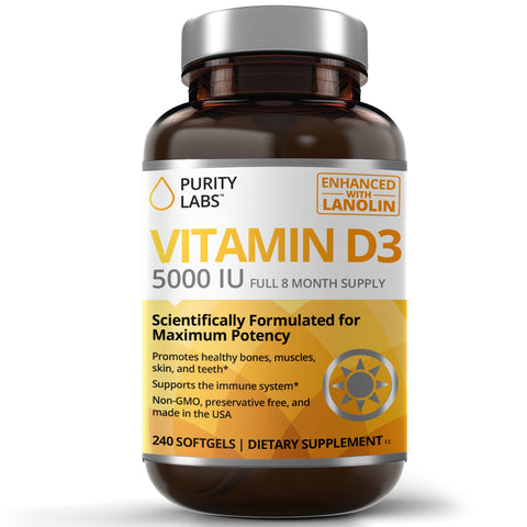Vitamin D Supplement, Vitamin D Softgels