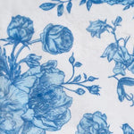 French Blue Floral