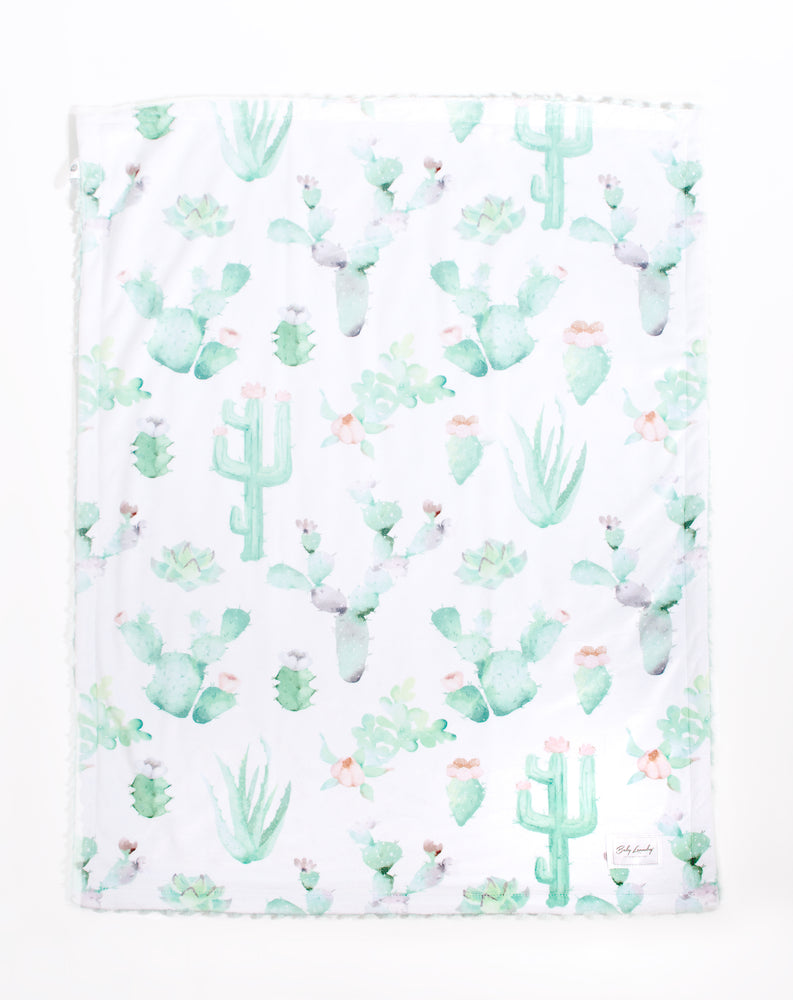 Cactus Bloom Blankets
