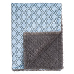Blue Lattice Blankets