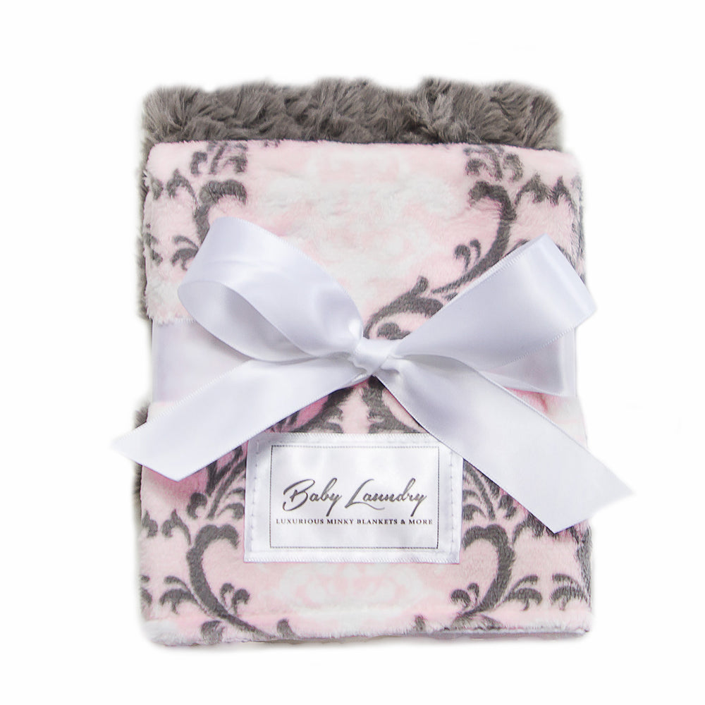 Damask Blush Burpie Set