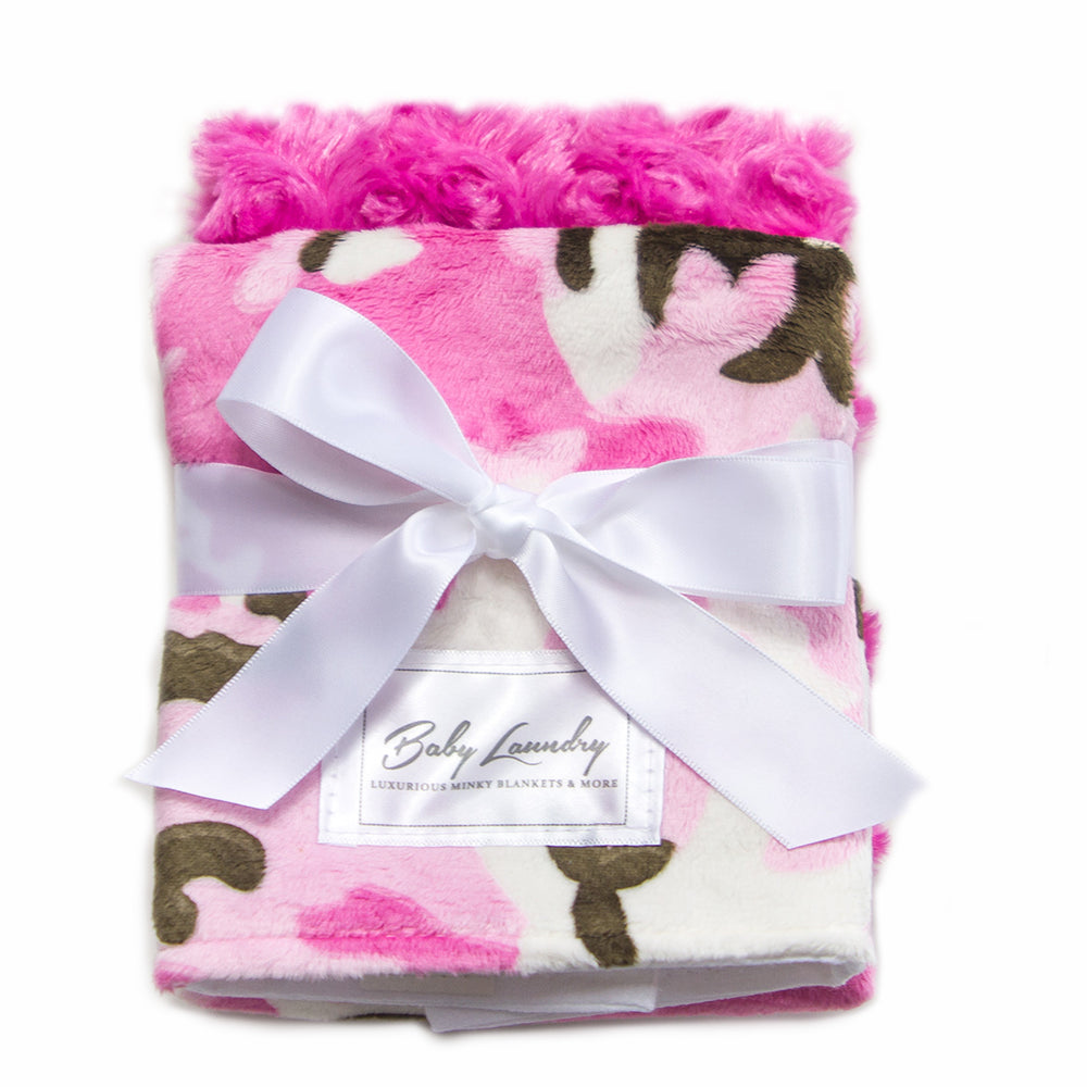 Hot Pink Camo Burpie Set