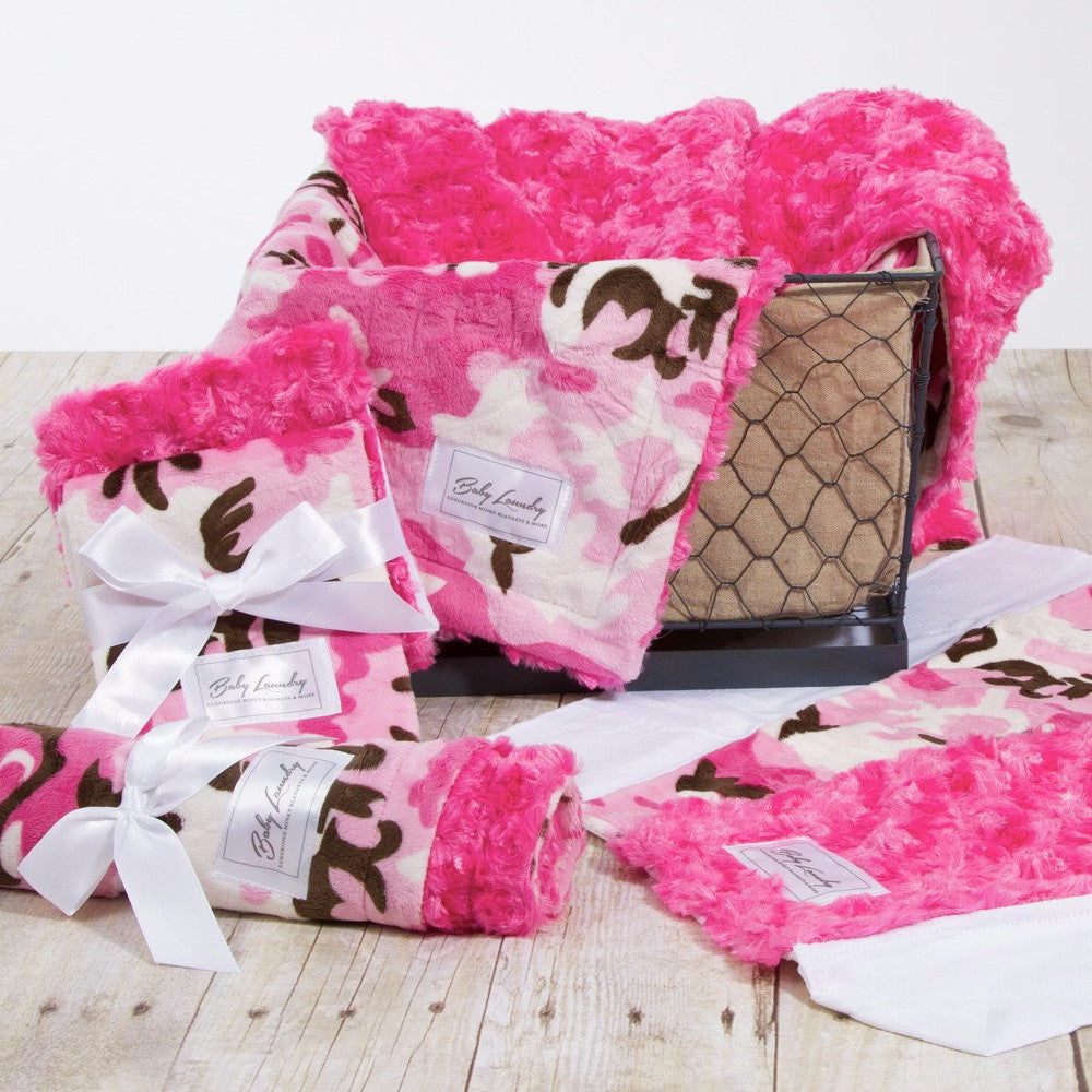 Pink Camo Bundle w/ 2 Burpie Sets