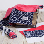 Navy Trellis Bundle