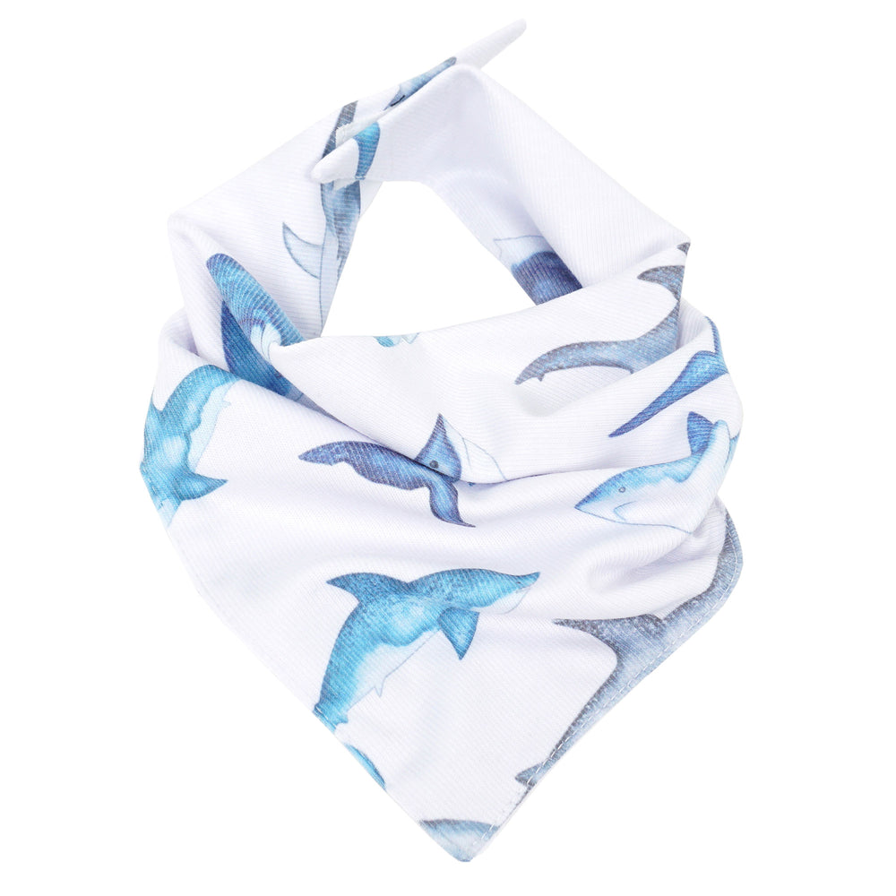 Little Shark Bandana Bib