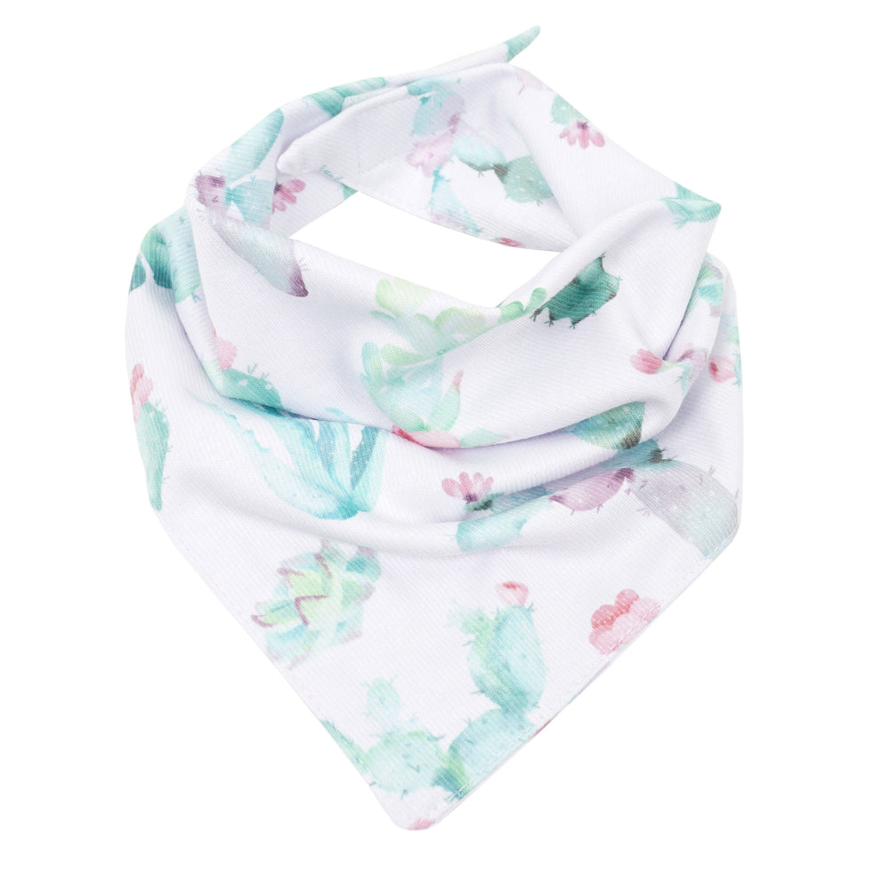 Cactus Bloom Bandana Bib