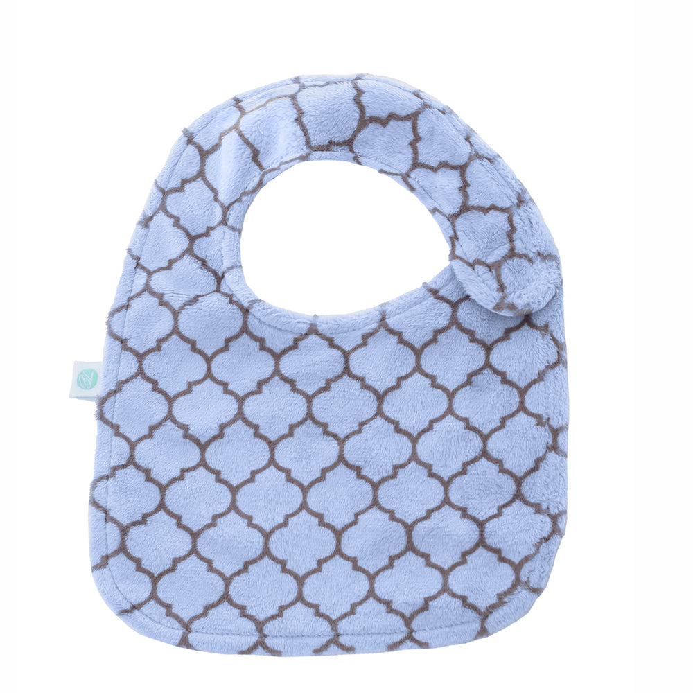 Blue Lattice Reversible Bib
