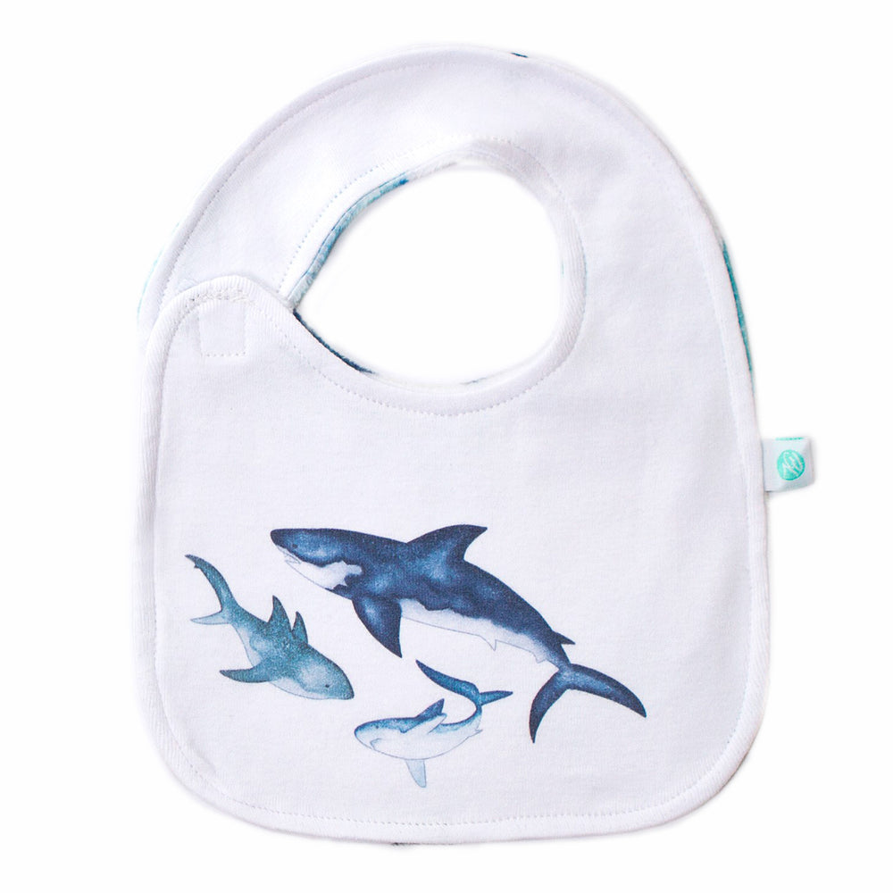 Little Shark Bib