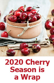 Cherry Harvest Season 2020 is Wrapped Up