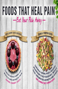 Foods that Heal Pain Infographic