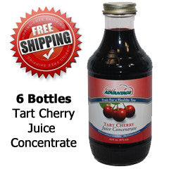Fruit Advantage Tart Cherry Juice Concentrate - Free Shipping Special