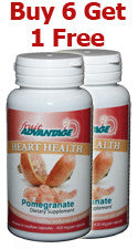 Fruit Advantage Pomegranate Heart Health - Buy 6 - Get 1 Free