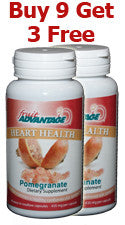 Fruit Advantage Pomegranate Heart Health - Buy 9 - Get 3 Free