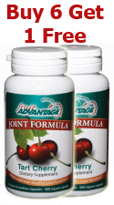Fruit Advantage Tart Cherry Joint Formula - Buy 6 - Get 1 Free