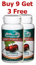 Fruit Advantage Tart Cherry Joint Formula - Buy 9 - Get 3 Free