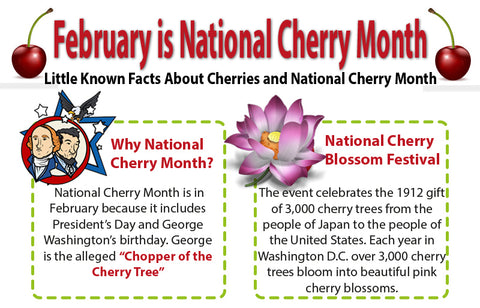 National Cherry Month - President' Day