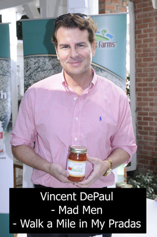 Vincent DePaul Madmen with Traverse Bay Farms Peach Salsa