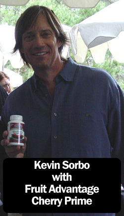 Kevin Sorbo with Fruit Advantage Cherry Prime