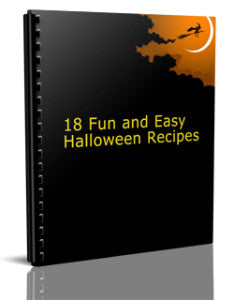 Halloween Recipe Cookbook