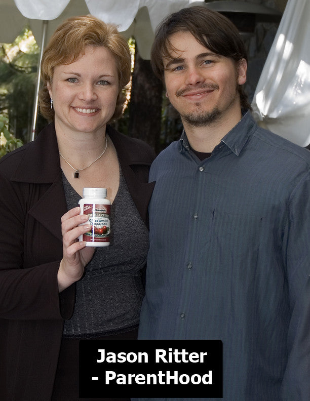 Jason Ritter with Fruit Advantage