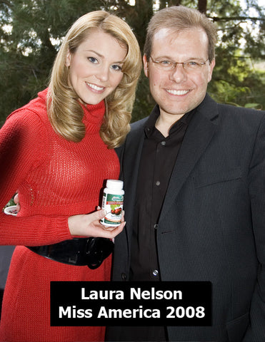 Laura Nelson Miss America with Fruit Advantage Tart Cherry Joint Formula