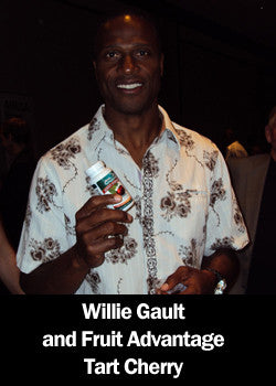 Willie Gault with Tart Cherry Joint Formula
